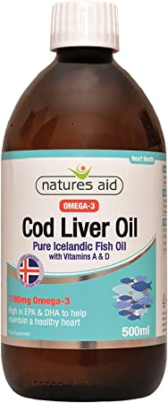Imagen deNatures Aid Health Cod Liver Oil Liquid 500ml