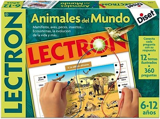 Diset Lectron: Animales del mundo (63810): Amazon.es: Juguetes y juegos