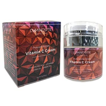 Amazon Com Vitamin C Cream Boost Skins Natural Sun Production