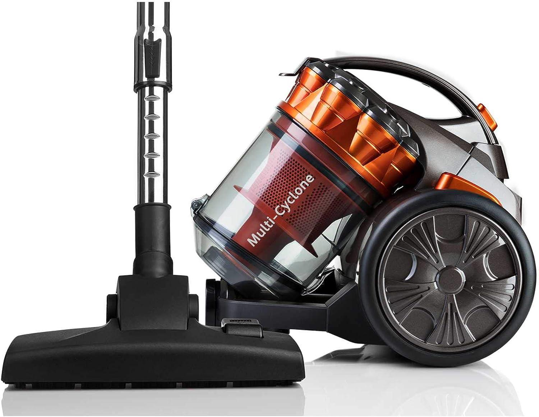 HAEGER CYCLON Force - Aspirador Multi-ciclónico Sin Bolsa, 700W, Multifunción, 2 L, Filtro HEPA, Potente y Ligero: Amazon.es: Hogar