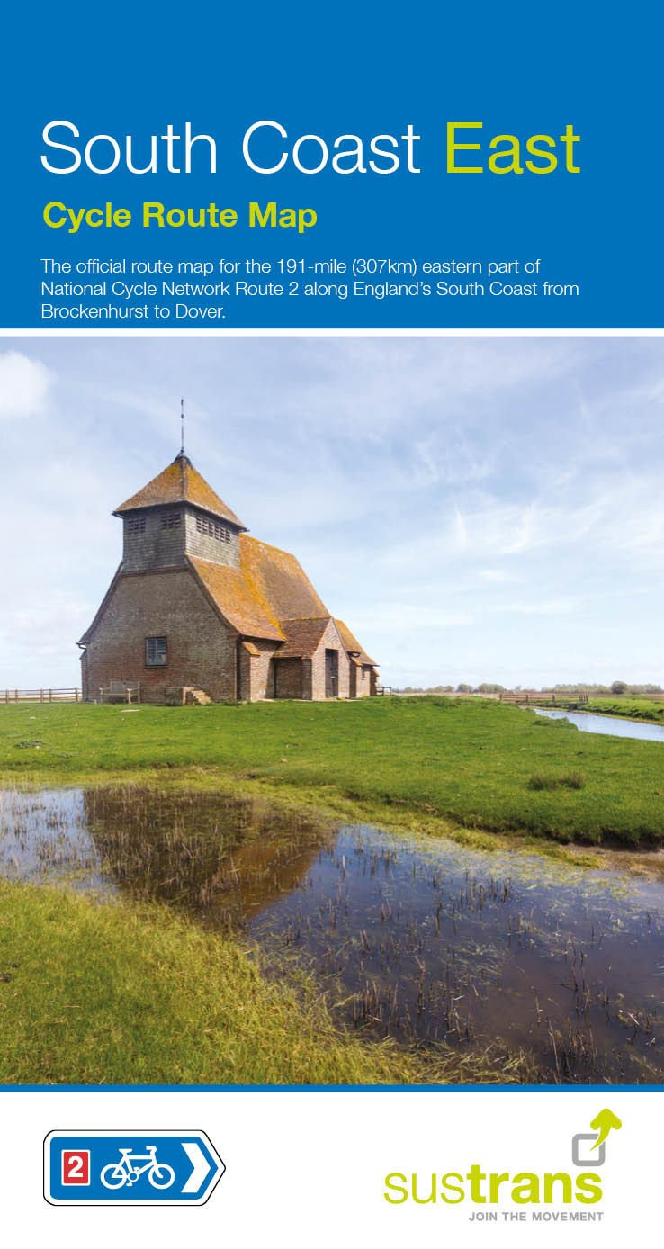 Download South Coast East Cycle Map PDF