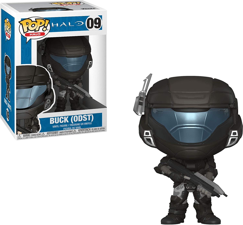 Funko POP! Games: Halo-Orbital Drop Shock Troopers Buck (Helmeted) Collectible Figure, Multicolor