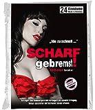 ORION Kondome scharf gebremst! - 24er Verzögerungs-Kondome für längeren Sex, Präservative zur Verzögerung des Orgasmus, Verhütungsmittel für mehr Ausdauer