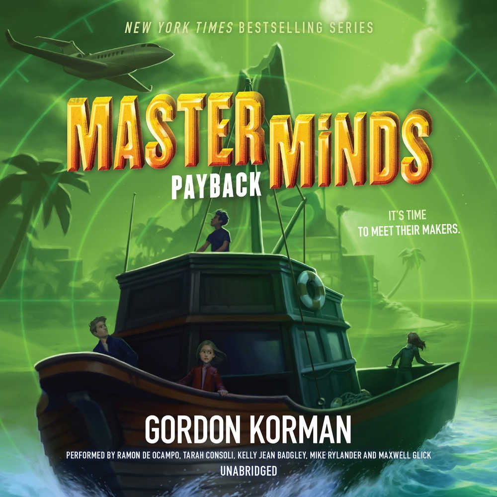 Masterminds: Payback  (Masterminds series, Book 3)