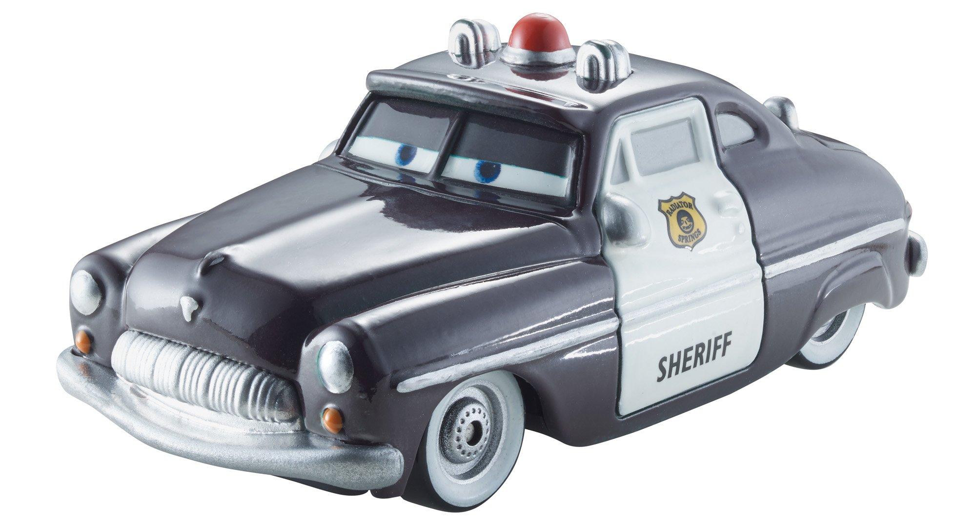 Disney Pixar Cars Color Change 1:55 Scale Vehicle, Sheriff