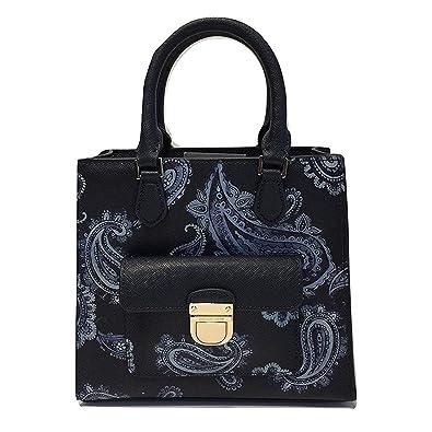 411b9b10d7b07f Amazon.com: Michael Kors Bridgette Paisley Messenger Bag (Small, Paisley  Admiral): Shoes