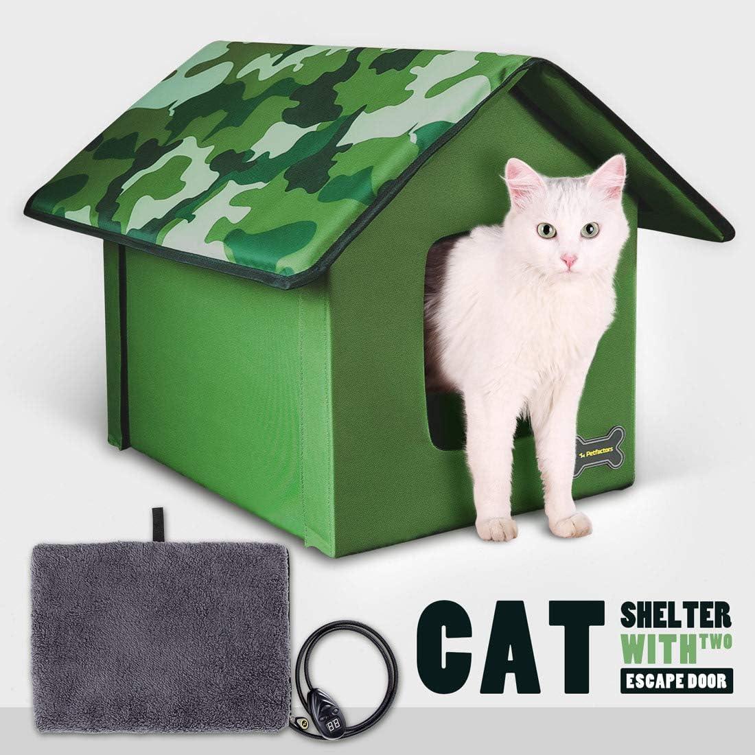 Petfactors Kitty House Heated and Unheated