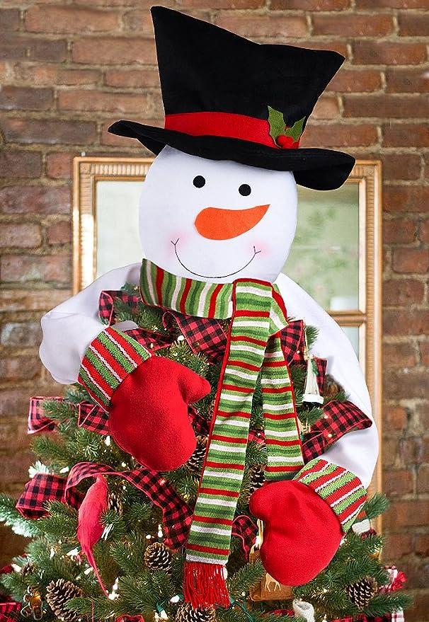 Snowman Christmas Tree Hugger