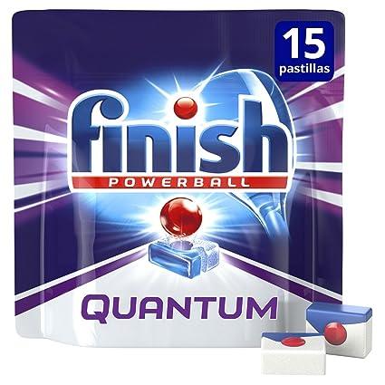 Finish Quantum Regular Pastillas para Lavavajillas - 15 pastillas