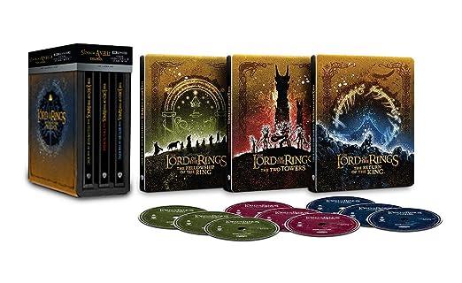 Il Signore degli Anelli - Trilogia Steelbook (4K Ultra HD) (9 dischi)