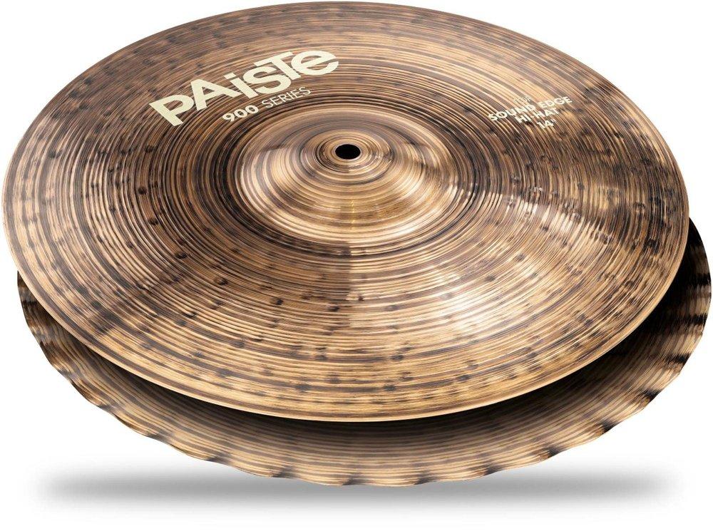Bottom PAiSTE 14インチ ハイハット 900 Series Sound Edge Hi-Hat ボトムのみ1枚 14″ サウンドエッジ (パイステ)