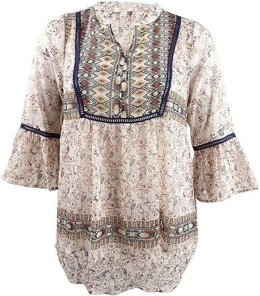Amazon.com: Style & Co. - Blusa para campesino de tamaño ...