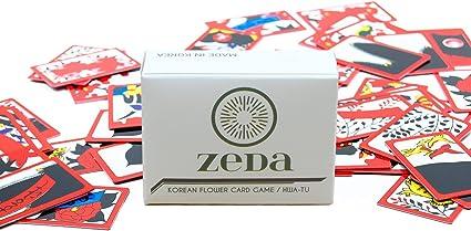 Korean Flower Card Game Hwatu Go Stop Godori by ZEDA International