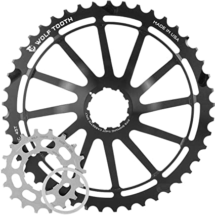 Cycling Bicycle Components & Parts Wolf Tooth Components 42t Gc Cog-for Shimano 11-36 10-speed Cassettes-silver-new Moderate Cost