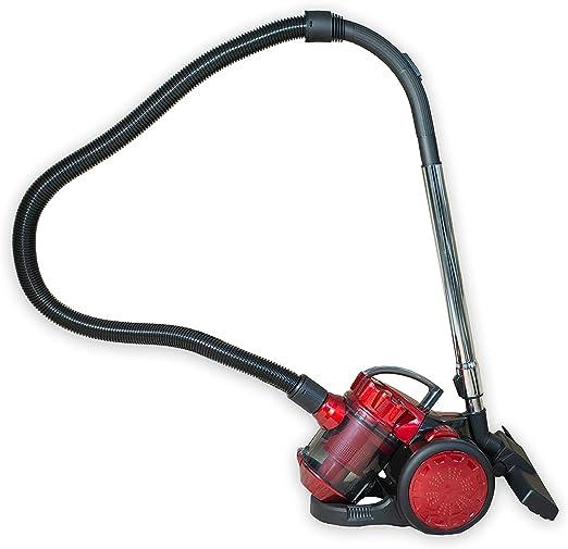 CleanIX - Aspirador ciclónico sin bolsa, con asa y filtro HEPA ...