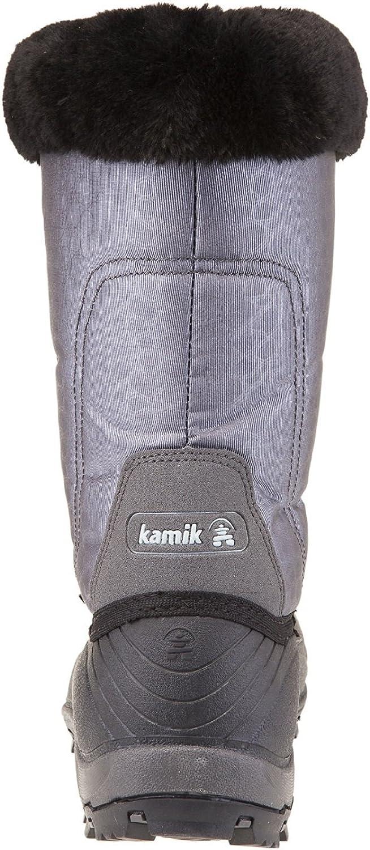 Kamik Momentum, Botas de Nieve para Mujer Carbón Charcoal Ii AQ7Cb