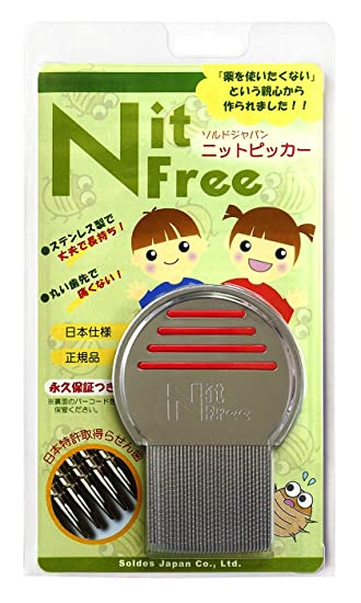 Japan Medical And Health Knit Free Comb Lice Eggs Extermination