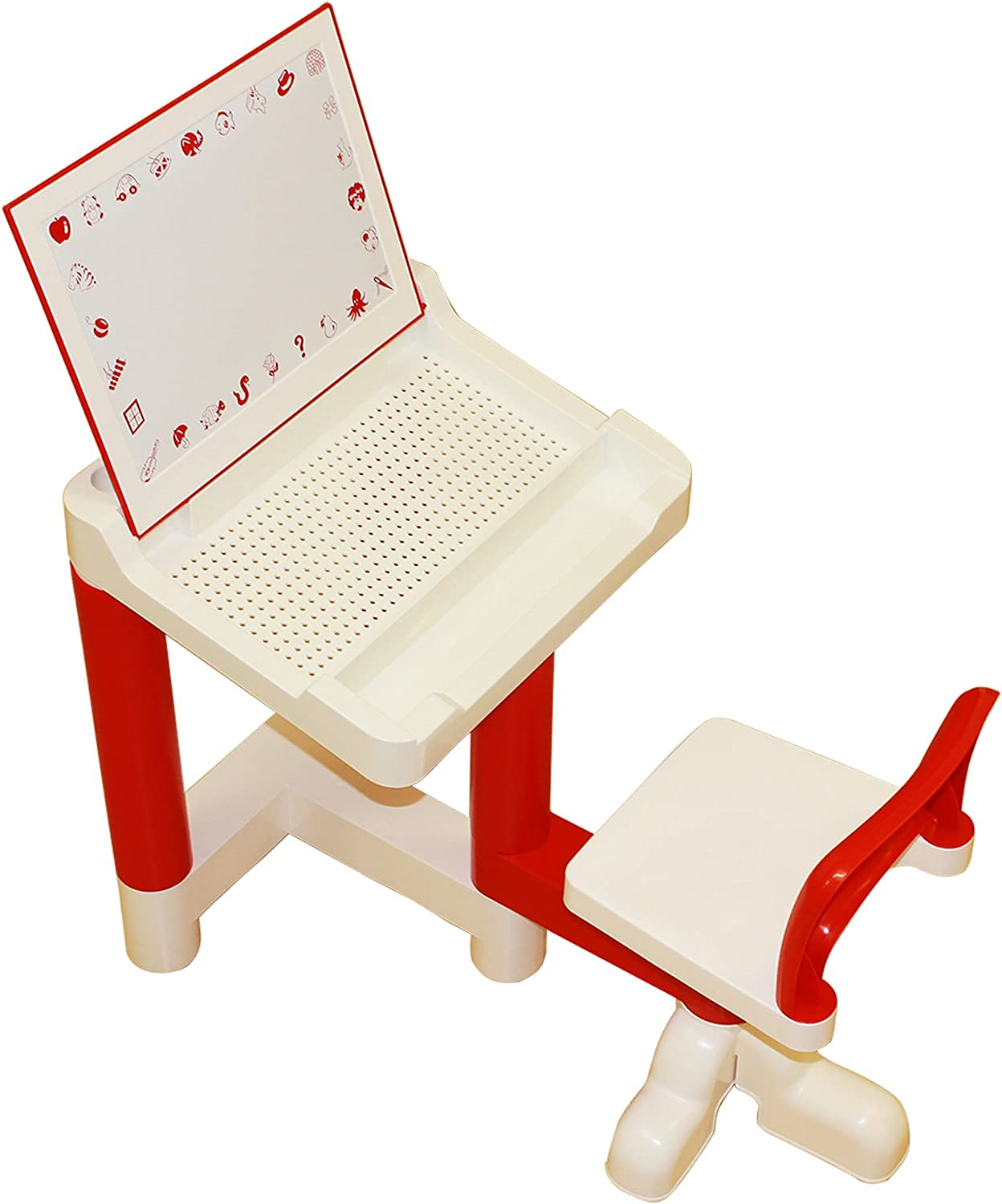 Liberty House Toys Multi-Purpose Desk and Chair with Magnetic Board
