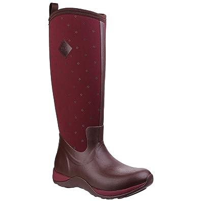 Muck Boots Company Women's Arctic Adventure Prints Socks, Cordovan Quilt,  ...
