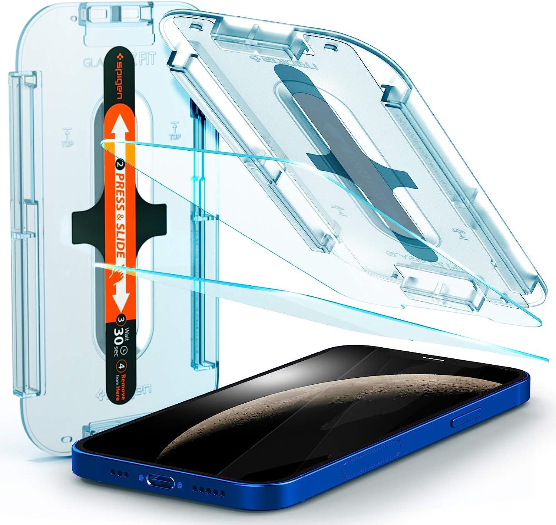 2 Vidrios templados para iPhone12(2020)/iPhone12Pro(2020)