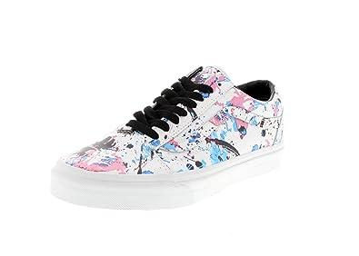 df5b22ce7e VANS Shoes - OLD SKOOL Paint Splatter white