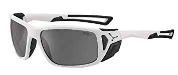 e8e33f790a Cébé Proguide Gafas, Unisex Adulto, (Matt White Black), L: Amazon ...