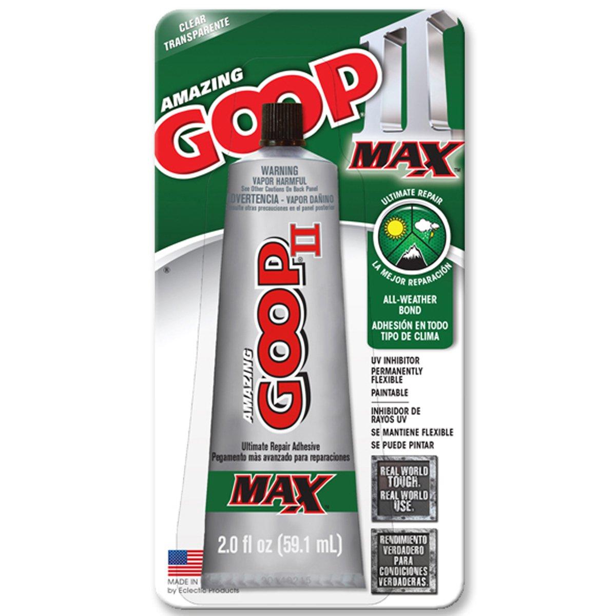 Amazing Goop II Max Glue - 2.0 Oz 2 Pack