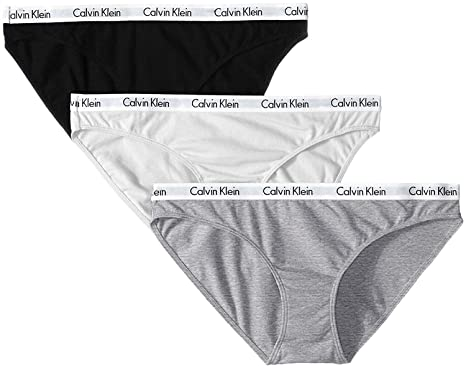 df12b8a7b7 Calvin Klein Cotton Bikini Underwear (3-Pack) at Amazon Women s ...