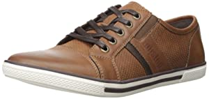 Kenneth Cole Unlisted Men's Shiny Crown Fashion Sneaker, Cognac, 10.5 M US