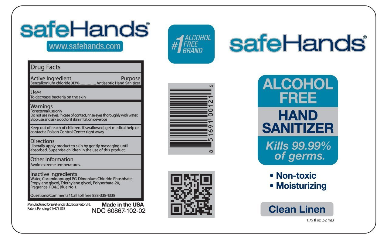 Alcohol Free Hand Sanitizer Natural