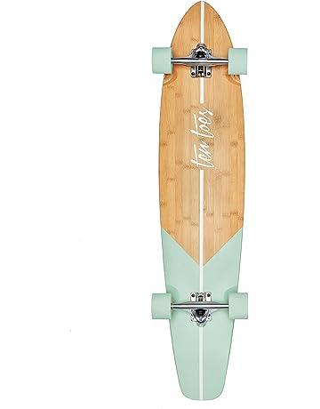 b89655bcef9d2 Retrospec Zed Bamboo Longboard Skateboard Complete Cruiser