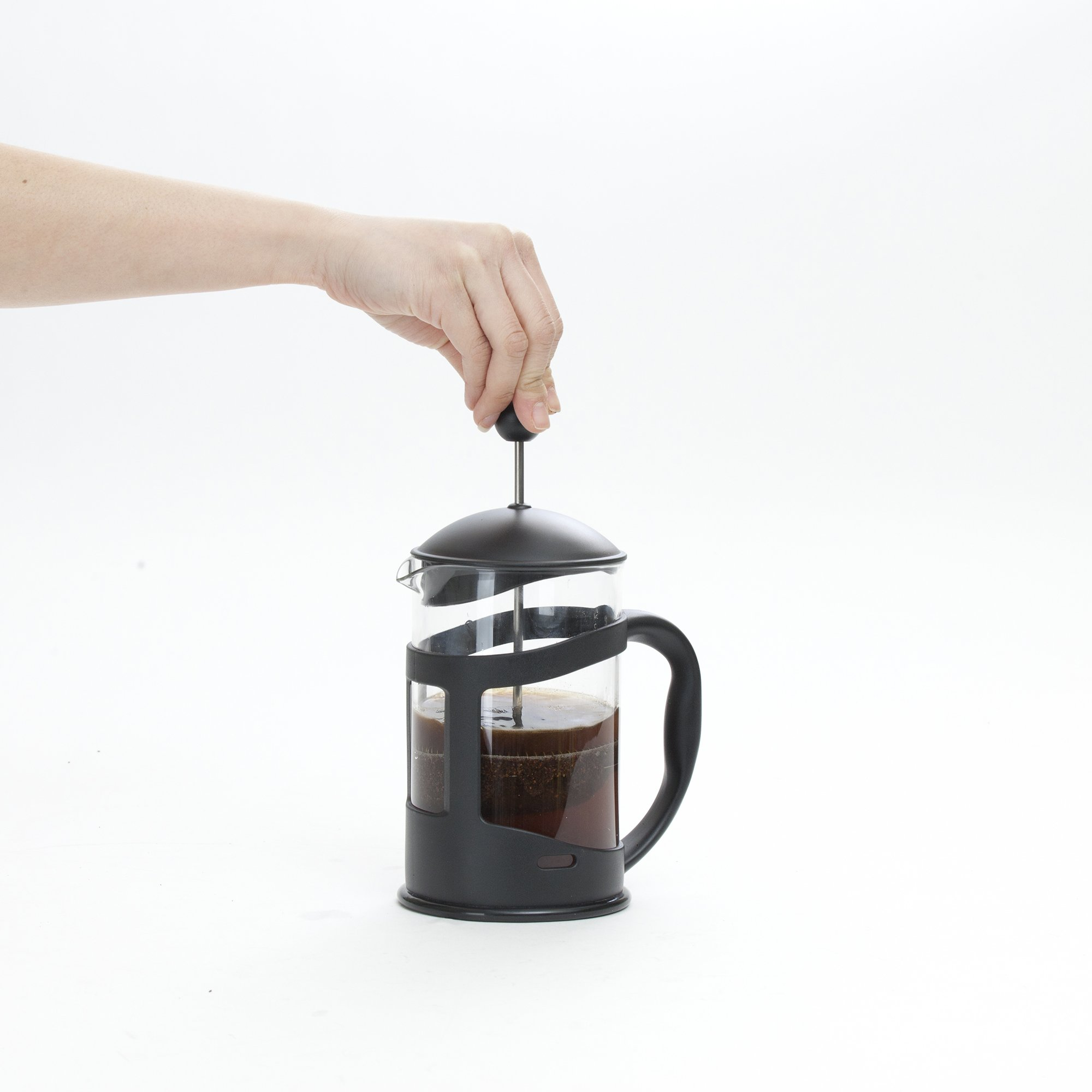Mind Reader French Press Coffee & Tea Maker 27 oz, Glass by Mind Reader (Image #4)