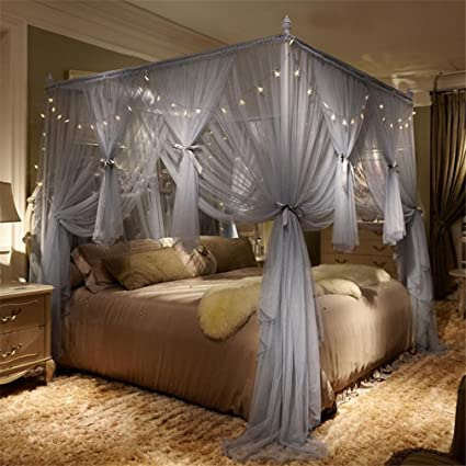 amazon com lucky clover a bed mosquito net netting romantic bed rh amazon com