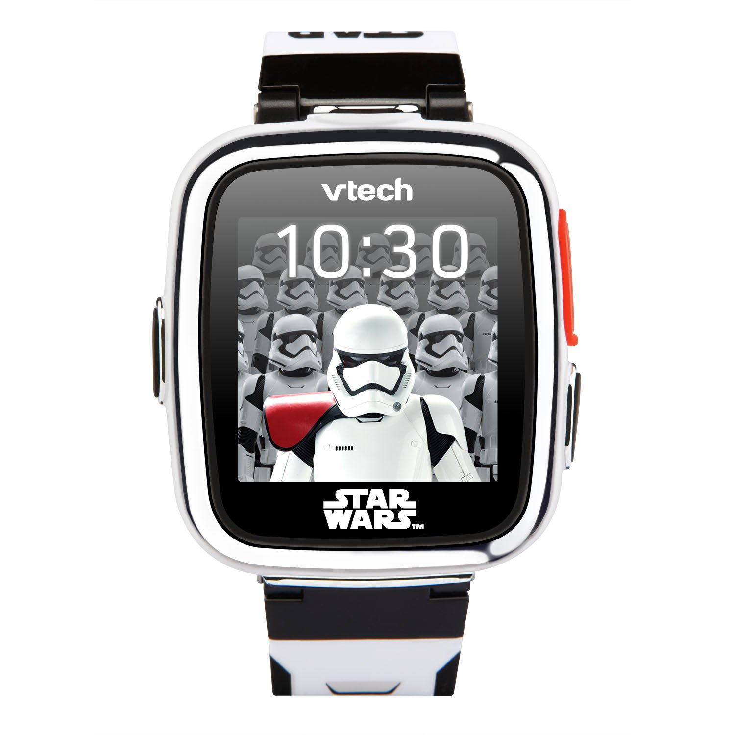 VTech Star Wars First Order Stormtrooper Smartwatch with Camera Amazon Exclusive, White by VTech (Image #3)