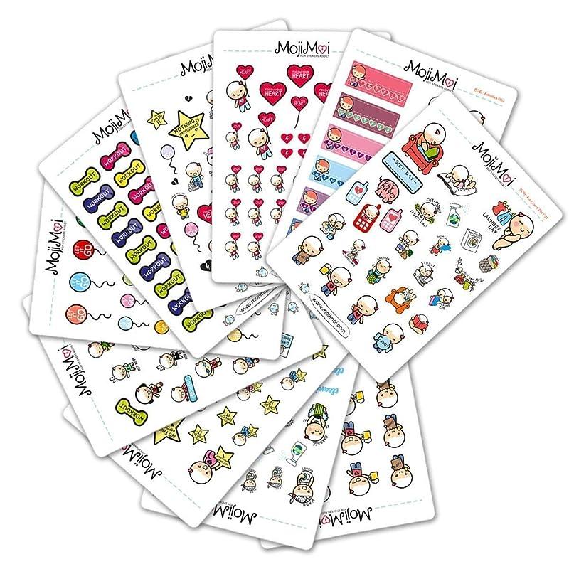 Weekly sticker kit /'spring into step/' for Erin Condren LifePlanner\u2122