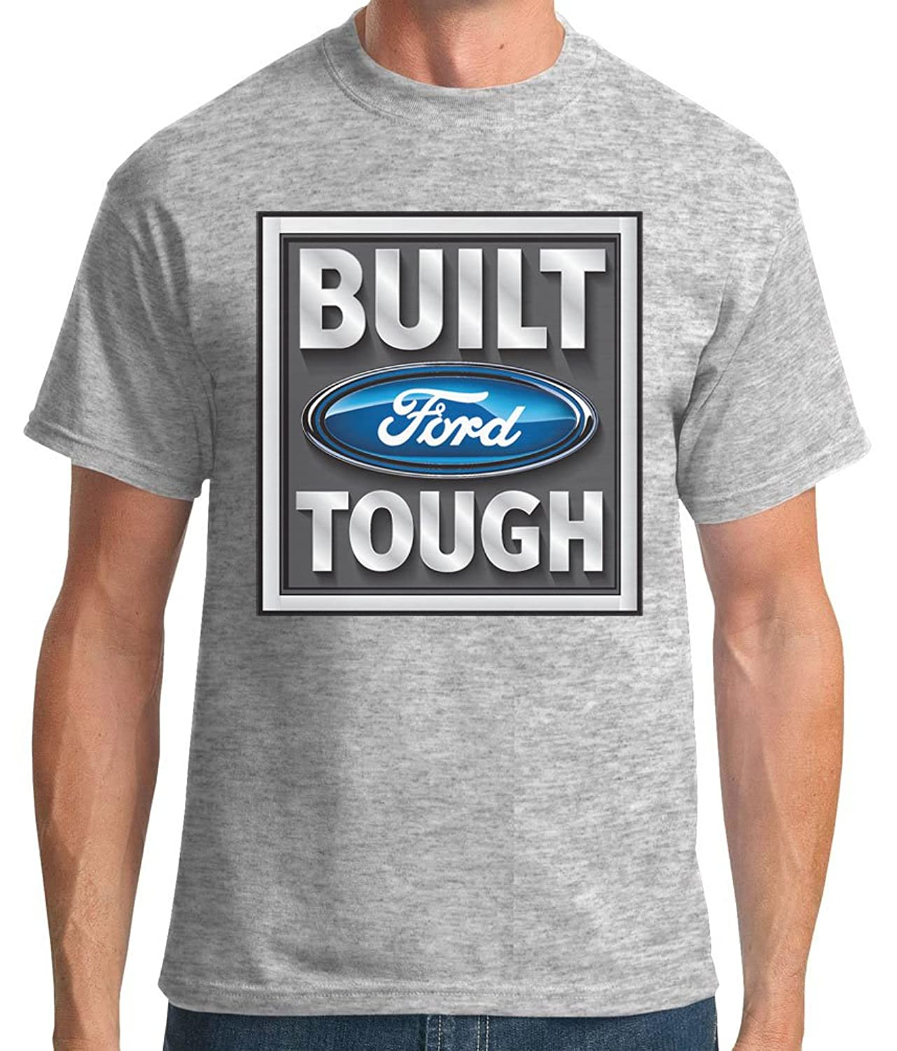 Mens Built Ford Tough Graphic Tee -Also in Big - Tall Sizes-