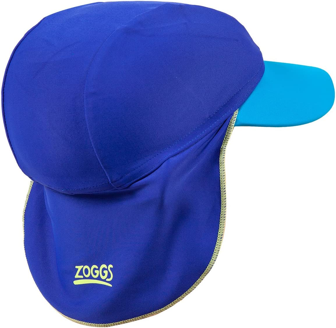 1-2 years ZOGGS Zoggy Swimmers Protection Hat Small BLUE Boys Blue /& Light Blue