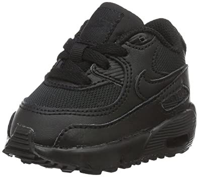 09d23a1ab802f Nike Unisex Babies  Air Max 90 Mesh (Td) Sneakers Black Size  7.5