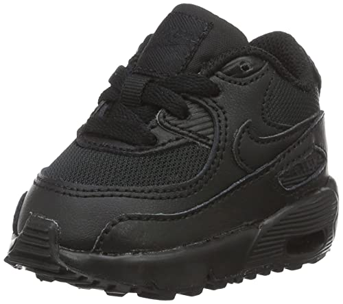 51eafdbf85a6 Nike Unisex Babies  Air Max 90 Mesh (Td) Sneakers Black  Amazon.co ...