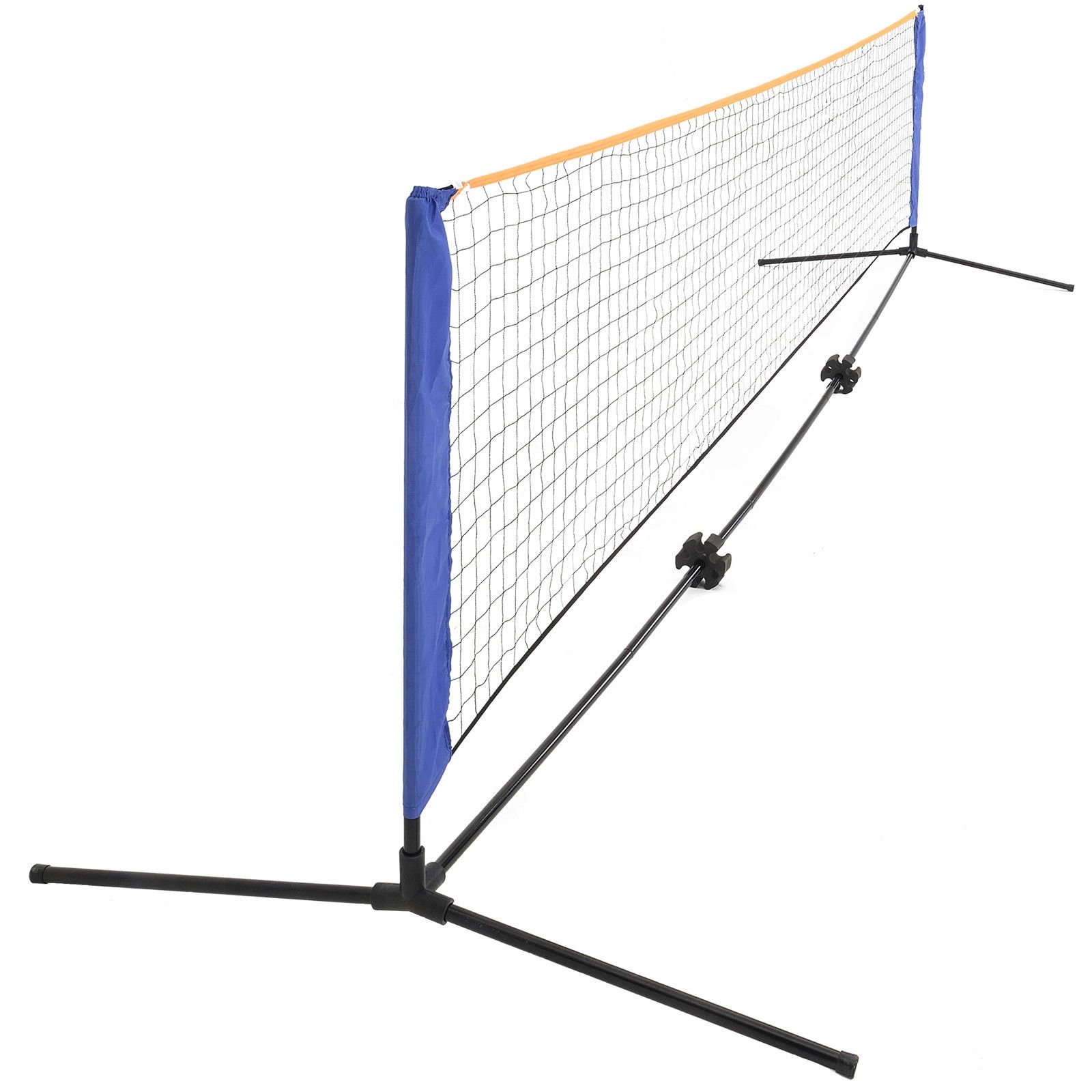 New 20FTx2.9FT Portable Badminton Net Tennis Volleyball Play Training w/ Carrying Bag