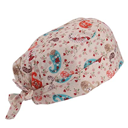 Buy Guoer Printed Surgical Scrub Cap Online at Low Prices in India ...
