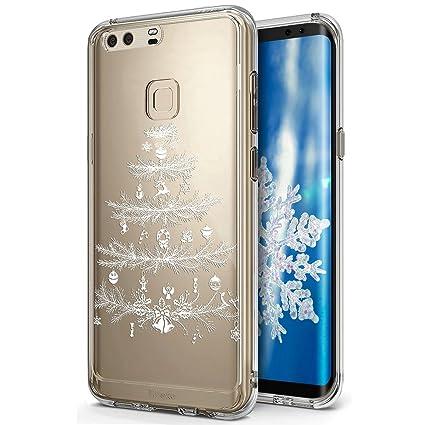 Huawei P9 Plus funda, Huawei P9 Plus caso Navidad, ikasus ...
