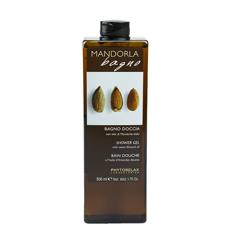Phytorelax Laboratories Bagno Doccia con Olio di Mandorle Dolci, 500 ml HARBOR SRL 6006906 6006906_-500ml