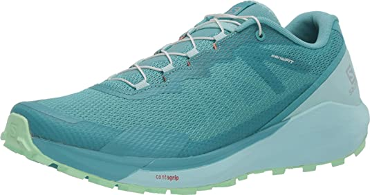 4. Salomon Women's SENSE RIDE 3 W, Trail Running Shoe