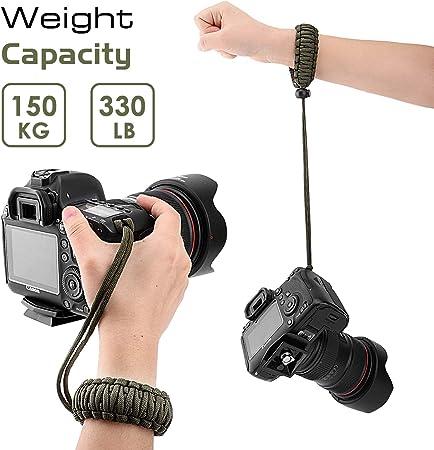 Moko Dslr Dslm Handschlaufe Kamera Nylon Paracord Elektronik