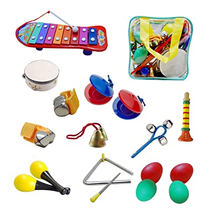 amazon com kids musical instruments toddler toys ubtoy 10 types