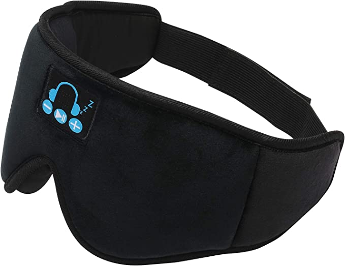 Amazon.com: Bluetooth Sleep Eye Mask Wireless Headphones for Sleeping, Men Women 3D Contoured Cup Music Sleep Mask / Blindfold, 100% Blockout Lights, Soft Comfortable for Side Sleepers on Sleeping / Travel / Naps: Health & Personal Care