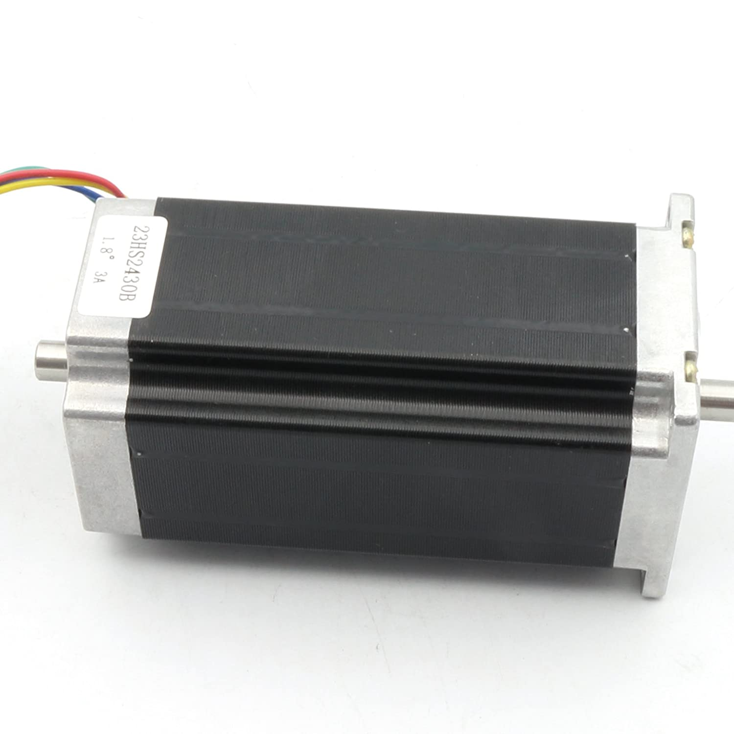 Nema23 112mm Stepper Motor 425oz-in 280Ncm 3A Dual Shaft For CNC Milling Lathe Router Engraving Machine