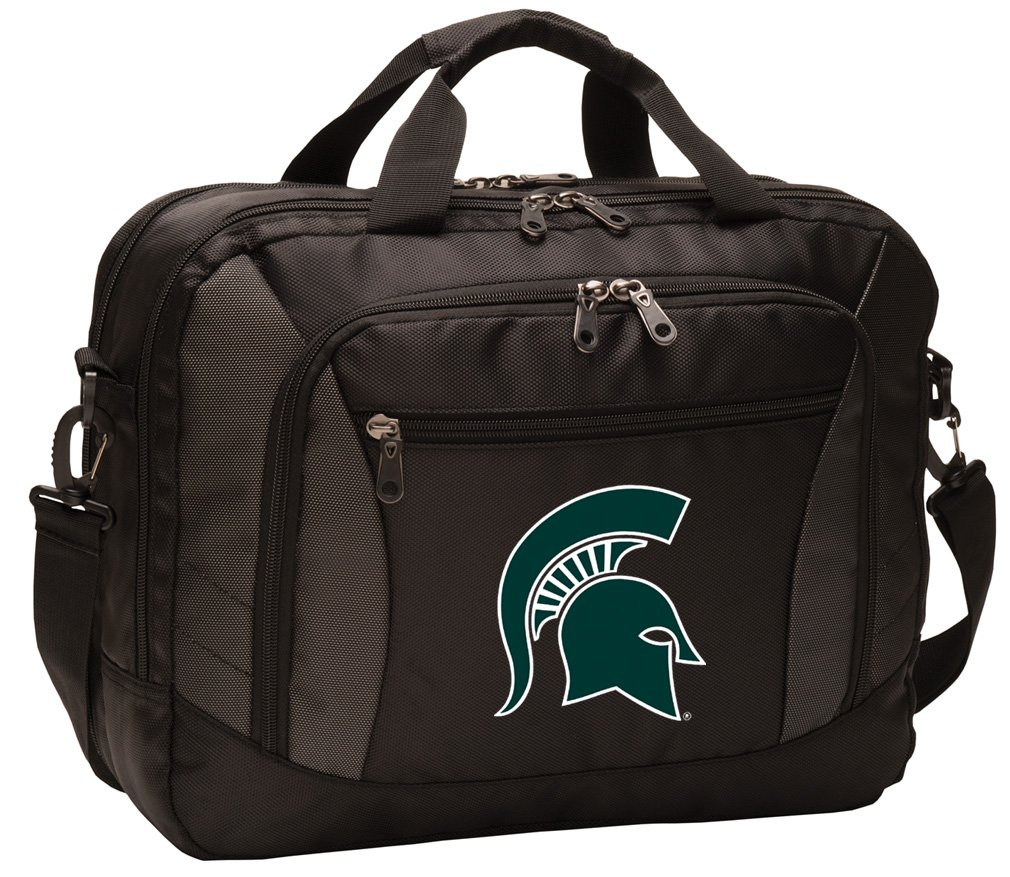 Broad Bay Michigan State University Laptop Bag Best NCAA Michigan State Computer Bags by Broad Bay (Image #6)