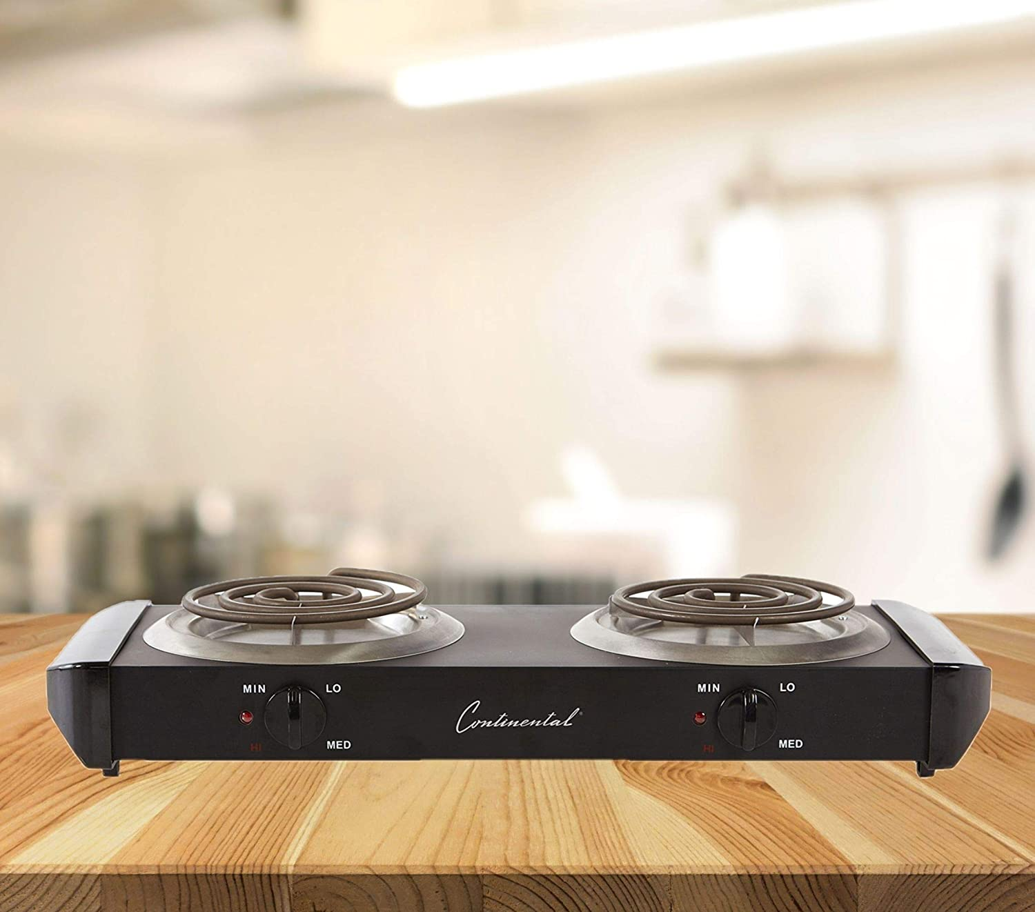 Amazon.com: Continental Electric CE23319 Double Burner Range: Electric Countertop Burners: Kitchen & Dining
